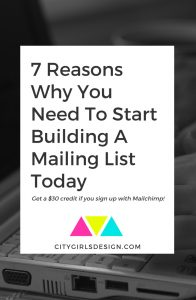 7 Reasons Why You Need To Start Building A Mailing List Today