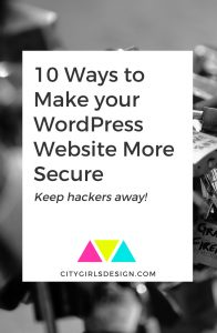 10 Ways to Make your WordPress Website More Secure