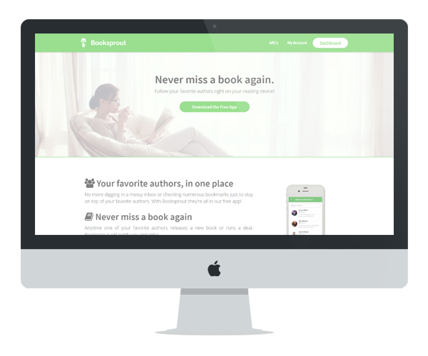 Booksprout Mockup