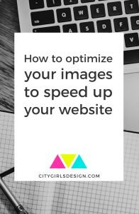 How to optimize your images to speed up your website