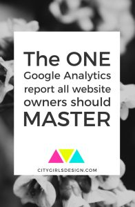 The one Google Analytics Report all website owners should master